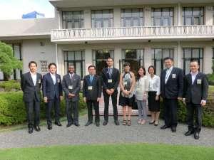 TOYP AWARD WINNERS AND JCI OSAKA EXECUTIVES