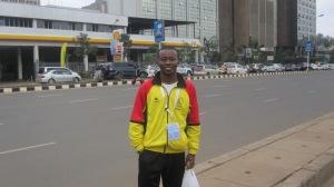 On the street of Nairobi