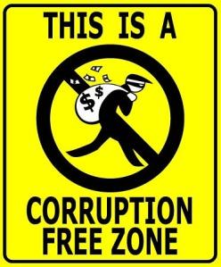 corruption free zone ©plus.google.com